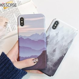 pc cases NZ - Mobile Phone Accessories Mobile Phone Cases Covers KISSCASE Landscape Hard PC Water Sticker Case For Huawei Honor 8X 9 10 Lite P30