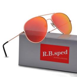 Golden Flash Drive Australia - Brand Designer Polarized Sunglasses Classic Pilot Sun glasses for Men Women Driving glasses UV400 Metal Frame Flash Mirror polaroid Lense