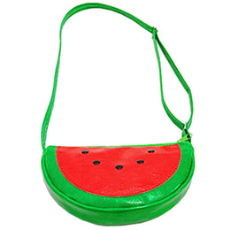 watermelon kids bag UK - Fashion Child Princess Kids Crossbody Messenger Shoulder Bag Girls Purse, Watermelon
