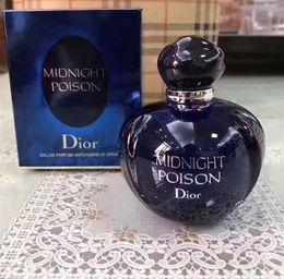 Venta al por mayor de ¡Calidad superior! Blue Bottle Ladies perfume íntimo fantasía medianoche Eau de Toilette Perfume de mujer 100 ml de larga duración