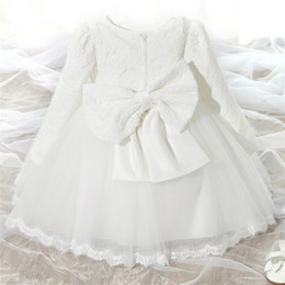 Gift For Baby Girls NZ - Toddler Girl Baptism Dress Carnival Costumes Baby Girls Princess Dresses 1 Year Birthday Gift Kids Party Wear Dresses For Girls Y19050801