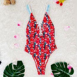 $enCountryForm.capitalKeyWord NZ - Miyouj 2018 Sexy Floral Push Up One Piece Swimsuit Bathing Suit Women Swimwear Halter Swimsuit Female Bather Swim Beach Wear Y19062901