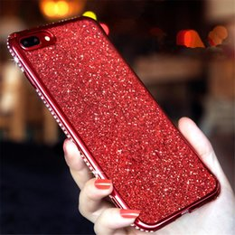 $enCountryForm.capitalKeyWord Australia - Rhinestone Cases For SamSung Galaxy S7 Edge S8 S9 S10 Plus S10E J7 A8 A6 A7 2018 Note 8 9 A40 A70 A10 A50 M20 M10 Glitter CoversNew product