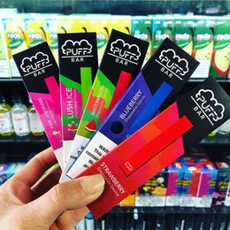 $enCountryForm.capitalKeyWord NZ - Good taste Puff Bar Disposable Pod Starter Kit 280mAh Battery With 1.3ml Cartridge Device Pods Vape Pen 10 Flavors Puff bar disposable