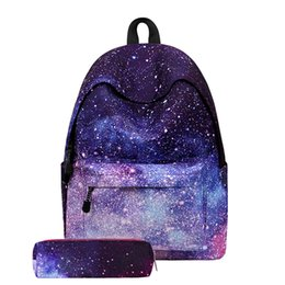 4e9007524877 2019 New Arrival Women Backpacks Starry Sky Set School Bags For Teenage  Girls Shoulder Drawstring Bags For Women Teenager Girls