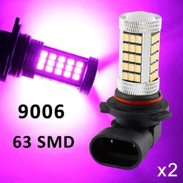 Reasonable Fit For Truck Foglight Lamp 9006 9012 9006hp 9006xs Led Blue Color Car Fog Light Bulbs Projector Drl Accessories Trim Latest Technology Automobiles & Motorcycles Car Lights