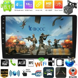 stereo media player UK - Autoradio Android 8.1 Bluetooth Quad Core Car Stereo Radio MP5 Media Player GPS NAV+Camera