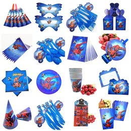 superheroes party decorations NZ - 10pc Kids Birthday Party Supplies Spiderma Plastic Forks Christmas Festival Theme Superhero Party Decoration Baby Shower Favors