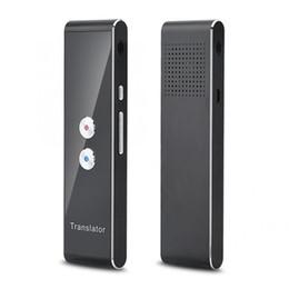 Großhandel Smart Voice Translator Unterstützung 41 Sprachen Übersetzer Instant Traductor Mini tragbare Traducteur Vocal Drop Shipping