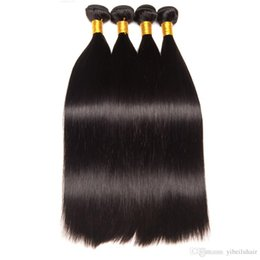 $enCountryForm.capitalKeyWord Australia - TFH Peruvian Straight Hair 100% Human Hair Weave Bundles Free Shipping Can buy 4 Bundles Non-remy 8-40 inches Peruvian virgin hair