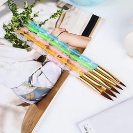 $enCountryForm.capitalKeyWord Australia - Helical Crystal Pen for Nail Crystal Pen Acrylic Bar 3D Nail Carving Pen Size and Size