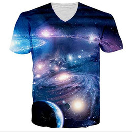 $enCountryForm.capitalKeyWord UK - New Fashion Men Womens Planet Space Galaxy 3D Print Casual T-Shirt Short Sleeve