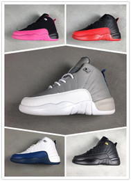 basketball shoes for girls Australia - brand 12 Kids Shoes Children J12s Basketball Shoes High Quality Sports Shoes Youth boys girls Sneakers For Sale Size: US11C-3Y