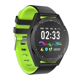 Big Purple Watches Australia - G50 1.3inch Big Color Round Screen Smart Wristband Heart Rate Blood Pressure Sleep Monitoring Motion Waterproof Step Count Watch