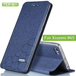 $enCountryForm.capitalKeyWord Australia - Xiaomi mi5 case flip leather silicon cover Mofi original xiaomi 5 case ultra thin soft TPU xiaomi mi 5 TPU fundas wallet black