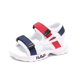 Sale Leather Sandals UK - 5 stars fashion high quality children sandals hot sales casual cute kids shoes hot sales cool girls boys shoes footwear
