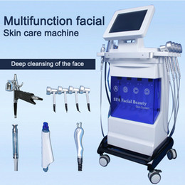 hydrafacial spa 2019 - 5 in 1 Diamond Microdermabrasion beauty machine oxygen skin care Water dermabrasion Aqua Peeling hydrafacial SPA equipme