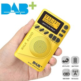 "$enCountryForm.capitalKeyWord Australia - JINSERTA Portable DAB DAB+ Radio Receiver Stereo MP3 Music Player with 1.44"" Screen 20 Preset Channel Support TF Card Play"