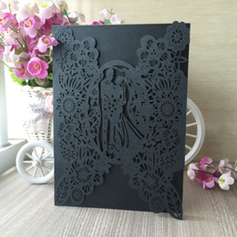 Wedding cards brides groom online shopping - Bride And Groom Wedding Invitation Cards Engagements Ceremony Celebration Of Festival Invitation Cards Grand Events Supplies