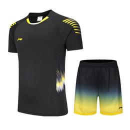 744d76492e T-shirt da uomo e da donna Li Ning di nuova generazione, vestiti da  abbinare, camicie da badminton, pantaloncini, magliette da tennis da  tavolo, ...