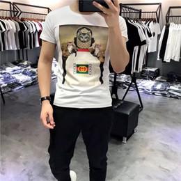 owl shirt women 2019 - 19ss new Italian fashion brand design owl print T-shirt men and women breathable fashion street windbreaker sweatshirt o