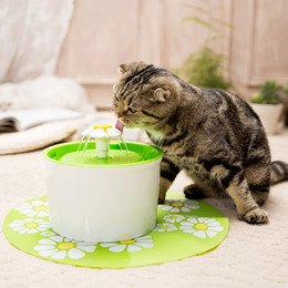 Discount cat drinking water fountain - Automatic 1.6L Bowl for Cat Water Fountain Drinking Water Dispenser Drink Filter 3 Layer Filtration System Mute Feeder