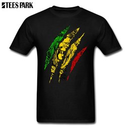 21786416 Fun Tee Shirts Warrior Lion of Judah King Rasta Reggae Jamaica Roots Men's T  Shirts Crew Neck Printing Male Cool T