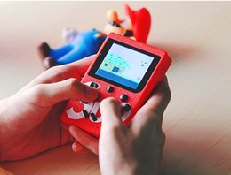 Video games player for kids online shopping - Top sale SUP Mini Handheld video Game Console Portable bit FC MODEL FOR FC AV Out Colorful LCD Screen Game Player For FAMICOM with box