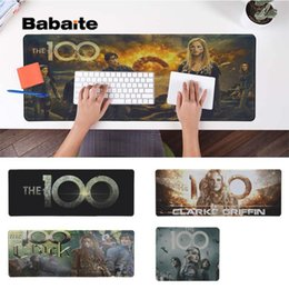 Free Pc Keyboard Mouse Australia - Babaite Boy Gift Pad The 100 Large Mouse pad PC Computer mat Free Shipping Large Mouse Keyboards Mat