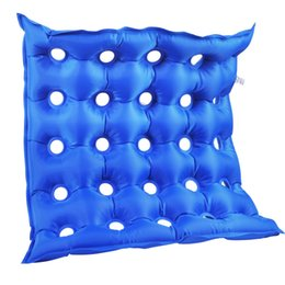 PumP Pillow online shopping - Pad Square Cushion Inflatable With Pump PVC Home Use Anti decubitus Unisex Mobility Medical Nylon