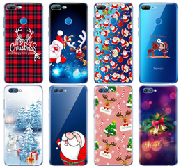 $enCountryForm.capitalKeyWord Australia - Silicone Cover phone Case for Huawei Honor 10 V10 3c 4C 5c 5x 4A 6A 6C pro 6X 7X 6 7 8 9 LITE soft tpu Merry Christmas Deer gift