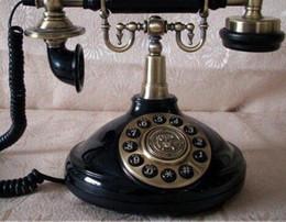 - Бесплатная доставка наберите античный телефон черный старый роторный ретро старинные телефон проводной стационарный домашний офис телефон