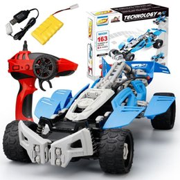 $enCountryForm.capitalKeyWord Australia - RC Car Toy SDL 2017A-20 2.4GHZ 1:16 USB Charging Building Block DIY Remote Control Toys Crawler Model