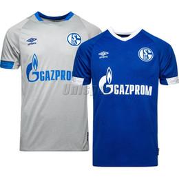 81a128899a Maillots de football Schalke 04 2018/19 S04 Ensemble de maillots de  football Camisa Embolo Uth