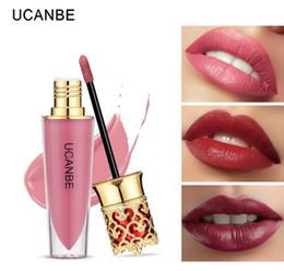 $enCountryForm.capitalKeyWord Australia - DHL Free Hot Crown Moisturizing Liquid Lipstick Lip Gloss Makeup Shimmer Matte Waterproof Long Lasting Lipgloss Cosmetic 6 Colors Free Ship