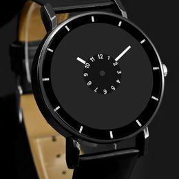$enCountryForm.capitalKeyWord Australia - ristwatch women New Design Leather strap watch elegant quartz wristwatch men women clock black & white brief unisex watches analog male r...