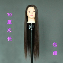 $enCountryForm.capitalKeyWord NZ - Head salon practice Quanzhen Xi model doll dummy mold blowing hot roll head hair wig