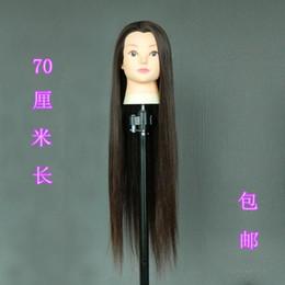 $enCountryForm.capitalKeyWord Australia - Head salon practice Quanzhen Xi model doll dummy mold blowing hot roll head hair wig