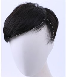 China Short Human Hair Wig Toupee Straight Natural Black Short Remy Hairpiece Accesories for Men with Clips ACL019 suppliers