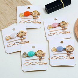 Discount stylish hair accessories women - Lady Simple Women Stylish Metal Hairpins Hair Clips Barrettes Headwear Hair Styling Accessories