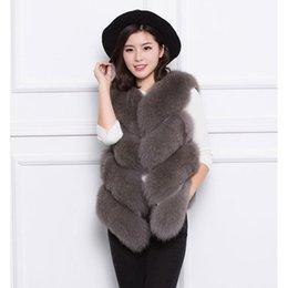$enCountryForm.capitalKeyWord Australia - Faux fur fur vest coat women's stitching jacket short female autumn winter new imitation fox grass vest slim outwear L1294