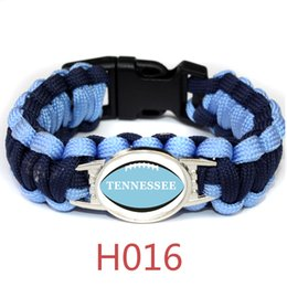 $enCountryForm.capitalKeyWord Australia - American Athletics LEAGUE Tennessee football teams survival paracord bracelets bangles for fans gifts