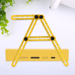TemplaTes feeT online shopping - New Folding Feet Four sided Scale Ruler Measuring Instrument Template Activities