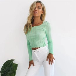 young women clothing UK - INS Solid Color Teenager Clothing Womens Cute Crop Top Young Crop Top Summer Womens Designer Crop Top