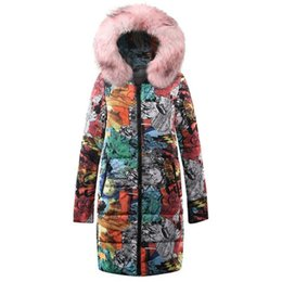 $enCountryForm.capitalKeyWord UK - Plus Size Hip Hop Gothic Winter Cotton Padded Jackets Women Coat Casual Warm Pink Slim Thick Print Overcoats Female Long Outwear