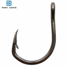 $enCountryForm.capitalKeyWord Australia - hook stainless steel Easy Catch 20pcs 10827 Stainless Steel Black Sharpened Live Bait Fishing Hooks Size 2 0 3 0 4 0 5 0 6 0 7 0