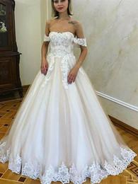 $enCountryForm.capitalKeyWord Australia - Summer Backless Wedding Dresses with Flowers 3D Floral Lace Elegant Off Shoulder Church Beach Garden Bride Wedding Gowns