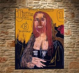 $enCountryForm.capitalKeyWord Australia - Jean Michel Basquiat Handpainted & HD Print Graffiti Pop Wall Art Home Decor Oil Painting On Canvas Multi Sizes Frame Options g55
