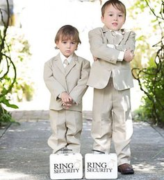 $enCountryForm.capitalKeyWord Australia - 2019 Boy Tuxedos Notch Lapel Children Suits Kid Prom Suits Ring Bearer Suits For Wedding (Jacket+Pants+Tie)