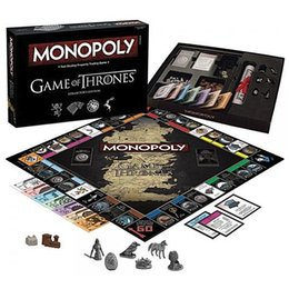 $enCountryForm.capitalKeyWord Australia - Game Of Thrones 8 Jon Snow Cosplay Prop Monopoly Paper Card Flight Chess Women Men Targaryen Dany Daenerys Board Game Adults Playing cards